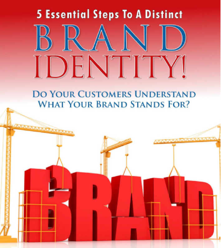 5 Essential steps to a distinct brand identity cover